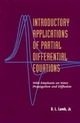 Introductory Applications of Partial Differential Equations: With Emphasis on Wave Propagation and Diffusion (0471311235) cover image