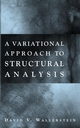 A Variational Approach to Structural Analysis (0471395935) cover image