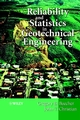Reliability and Statistics in Geotechnical Engineering (0471498335) cover image