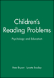 Children's Reading Problems: Psychology and Education (0631136835) cover image