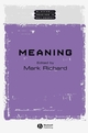 Meaning (0631222235) cover image