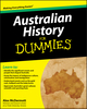 Australian History for Dummies (0730376435) cover image
