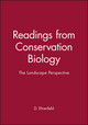 The Landscape Perspective (Readings from Conservation Biology) (0865424535) cover image