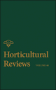 Horticultural Reviews, Volume 40 (1118345835) cover image