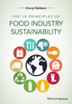 The 10 Principles of Food Industry Sustainability (1118447735) cover image