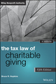 The Tax Law of Charitable Giving, 5th Edition (1118768035) cover image