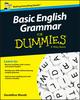 Basic English Grammar For Dummies, UK, UK Edition (1119071135) cover image