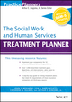 The Social Work and Human Services Treatment Planner, with DSM 5 Updates (1119073235) cover image