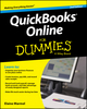 QuickBooks Online For Dummies, 2nd Edition (1119127335) cover image