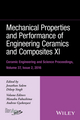 Mechanical Properties and Performance of Engineering Ceramics and Composites XI: Ceramic Engineering and Science Proceedings Volume 37, Issue 2 (1119320135) cover image