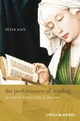 The Performance of Reading: An Essay in the Philosophy of Literature (1405188235) cover image
