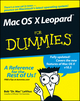 Mac OS X Leopard For Dummies (0470054336) cover image