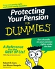 Protecting Your Pension For Dummies (0470102136) cover image