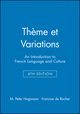 Cassettes for Chapters 24 - 27 to accompany Thème et Variations: An Introduction to French Language and Culture, 4e (0471048836) cover image