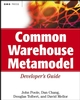 Common Warehouse Metamodel Developer's Guide (0471202436) cover image