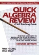 Quick Algebra Review: A Self-Teaching Guide, 2nd Edition (0471578436) cover image