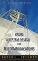 Radio System Design for Telecommunication, 3rd Edition (0471757136) cover image