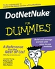 DotNetNuke For Dummies (0471798436) cover image