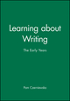 Learning about Writing: The Early Years (0631169636) cover image