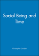 Social Being and Time (0631190236) cover image