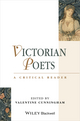 Victorian Poets: A Critical Reader (0631199136) cover image