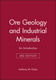 Ore Geology and Industrial Minerals: An Introduction, 3rd Edition (0632029536) cover image