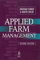 Applied Farm Management, 2nd Edition (0632036036) cover image