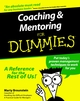 Coaching and Mentoring For Dummies (0764552236) cover image