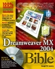 Dreamweaver MX 2004 Bible (0764568736) cover image