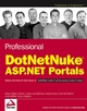 Professional DotNetNuke ASP.NET Portals (0764595636) cover image