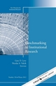 Benchmarking in Institutional Research: New Directions for Institutional Research, Number 156 (1118608836) cover image