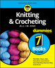 Knitting & Crocheting All-in-One For Dummies (1119652936) cover image