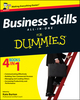 Business Skills All-in-One For Dummies, UK Edition (1119943736) cover image