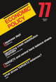 Economic Policy 76 (1444351036) cover image