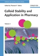 Colloid Stability and Application in Pharmacy: Colloids and Interface Science, Volume 3 (3527314636) cover image