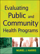Evaluating Public and Community Health Programs (EHEP003036) cover image