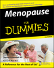 Menopause For Dummies, 2nd Edition (0470053437) cover image