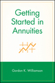 Getting Started in Annuities (0471283037) cover image