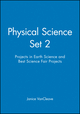 Physical Science Set 2: Projects in Earth Science and Best Science Fair Projects (0471349437) cover image