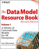 The Data Model Resource Book: A Library of Universal Data Models for All Enterprises, Revised Edition, Volume 1 (0471380237) cover image
