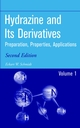 Hydrazine and its Derivatives: Preparation, Properties, Applications, 2nd Edition (0471415537) cover image