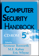 Computer Security Handbook, CD ROM, 5th Edition (0471716537) cover image