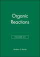 Organic Reactions, Volume 35 (0471832537) cover image