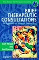 Brief Therapeutic Consultations: An Approach to Systemic Counselling (0471963437) cover image