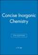 Concise Inorganic Chemistry, 5th Edition (0632052937) cover image