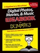 Digital Photos, Movies, and Music Gigabook�For Dummies (0764578537) cover image