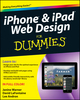 iPhone and iPad Web Design For Dummies (1118006437) cover image