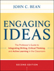 Engaging Ideas: The Professor's Guide to Integrating Writing, Critical Thinking, and Active Learning in the Classroom, 2nd Edition (1118062337) cover image