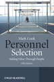 Personnel Selection: Adding Value Through People, 5th Edition (1118300637) cover image