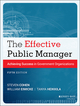The Effective Public Manager: Achieving Success in Government Organizations, 5th Edition (1118555937) cover image